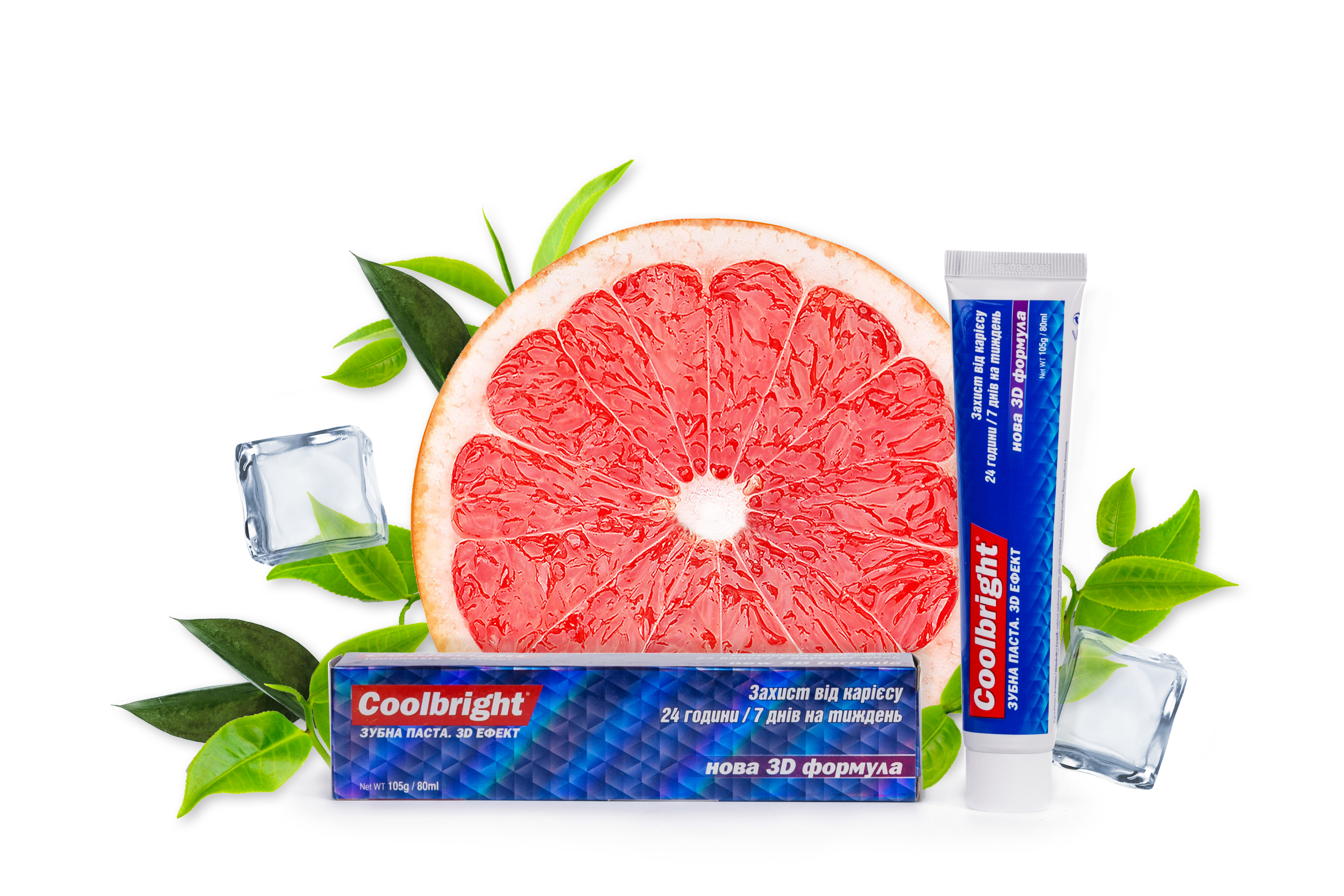 Coolbright Caries Protection 105г/ 80 мл