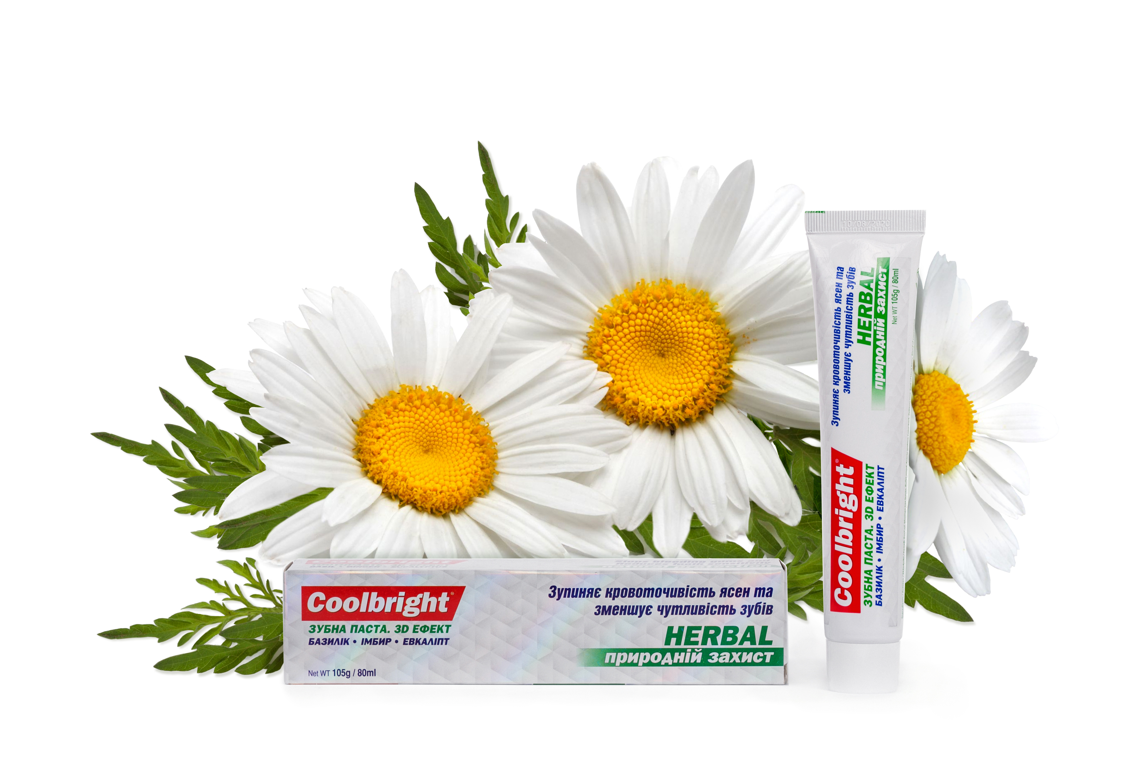 Coolbright Herbal 3D 105г/ 80 мл