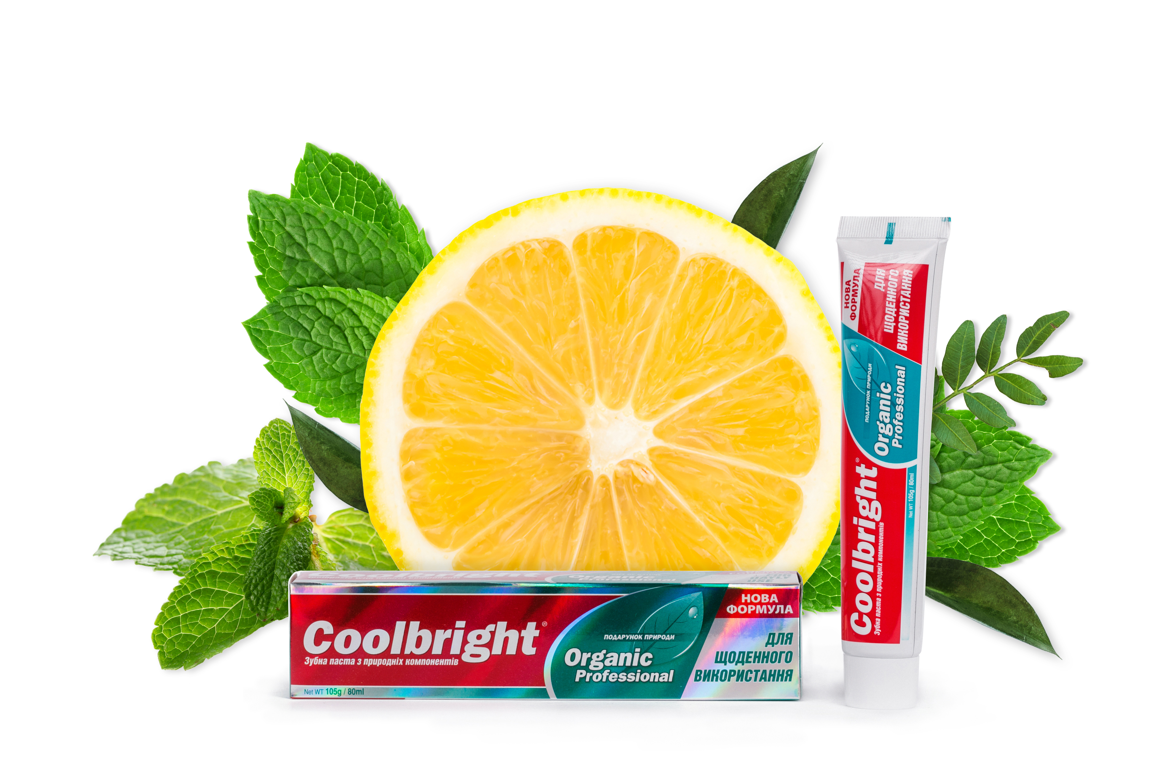 Coolbright Organic 105г/ 80 мл